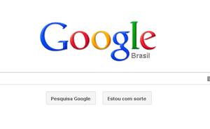 Página do Google, que fez o maior IPO de empresas de internet até agora (Foto: Reprodução)