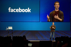 Mark Zuckerberg, fundador e CEO do Facebook, durante conferência em San Francisco, na Califórnia (Foto: Kimberly White/Reuters)
