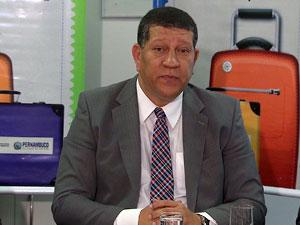 Isaltino Nascimento, secretário de transportes de Pernambuco (Foto: Reprodução/TV Globo)