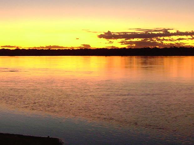 Praia em São Félix do Araguaia (Foto: Stanley Tang/Arquivo pessoal)