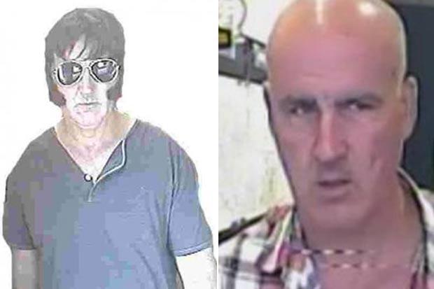 Martin Reilly cometeu assalto fantasiado de Elvis Presley. (Foto: Reprodução/Sussex Police)