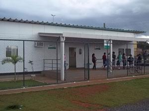 Única em funcionamento no DF, UPA atendeu menos de 50% do possível, segundo previsão inicial da Secretaria de Saúde (Foto: Raquel Morais/G1)