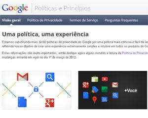 Google quer juntar dados coletados dos usuários em seus serviços (Foto: Reprodução)