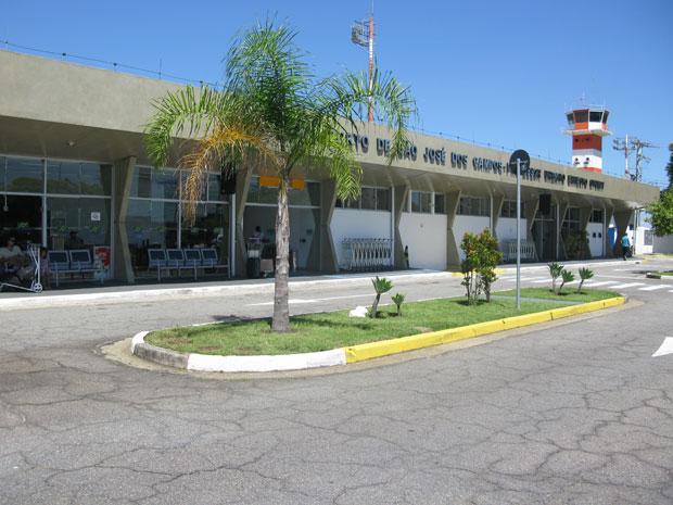 Movimento no aeroporto de São José dos Campos cresceu 180% em 2011 (Foto: Gabriela Gasparin/G1)
