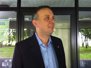 O novo ministro das Cidades, Aguinaldo Ribeiro. (Foto: Natália Godoy/G1)
