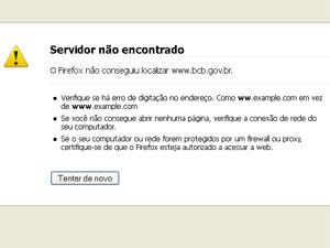 Site do Banco Central estava indisponível na manhã desta sexta-feira (3) (Foto: Reprodução/Youtube)