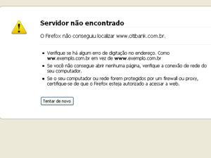 No Twitter, grupo diz ser responsável pela queda do site do banco (Foto: Reprodução)