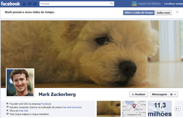 facebook mark zuckerberg (Foto: Reprodu&#231;&#227;o)