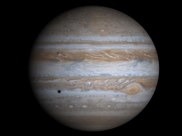 Júpiter é o maior planeta do Sistema Solar e conta com 66 satélites naturais. (Foto: Nasa)