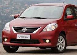 Nissan Versa (Foto: Divulgação)