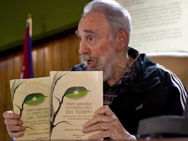 Fidel Castro apresenta livro em Cuba na sexta-feira (2) (Foto: Reuters/Cubadebate/Roberto Chile )