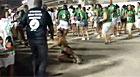 Mirella Santos cai duas vezes; veja o vídeo (Reprodução / TV Globo)