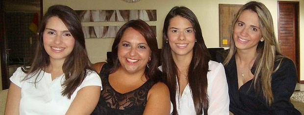 Acordo reconhece Karine Vinagre, Amanda Cruz e Aline Medeiros como coautoras (Foto: Laerte Cerqueira/G1 PB)