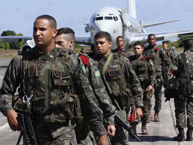brigada paraquedista (Foto: Divulgação/Secom)