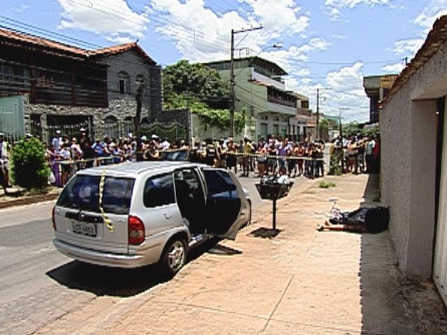 Irmãos são mortos em duplo homicídio em Contagem (Foto: Reprodução/TV Globo)
