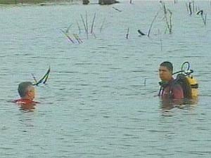 Pelo menos seis pessoas morrem afogadas no RS no fim de semana (Foto: Reprodução / RBS TV)