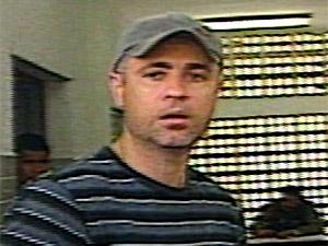 Delegado indiciado por tiros no sítio de Marcelinho Paraíba (Foto: Reprodução/TV Paraíba)