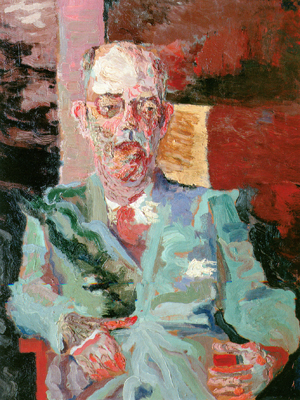 Portrait of Mario de Andrade by Flavio de Carvalho