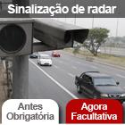 Tire dúvidas sobre radares  de fiscalização de velocidade (G1)