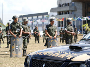 Greve da PM em Salvador (Foto: Egi Santana/G1)