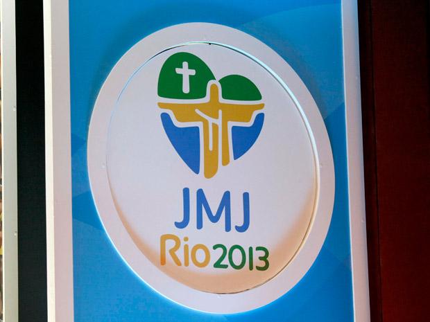 Logomarca da Jornada Mundial da Juventude foi apresentada nesta terça-feira (7) (Foto: Carlos Magno/ Governo do estado)