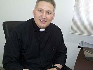 Padre Marcelo Rossi lança CD em Uberlândia (Foto: Palmira Ribeiro)