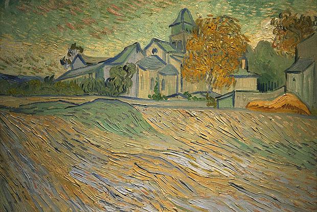 """""""Vue de l'asile et de la chapelle de Saint-Remy"""", de Van Gogh (Foto: Reuters)"""