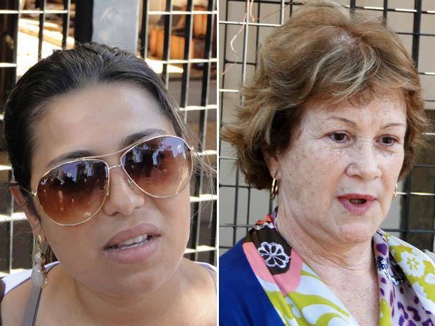 Fãs de Wando falam sobre cantor na porta de hospital em Nova Lima (Foto: Alex Araújo/G1)