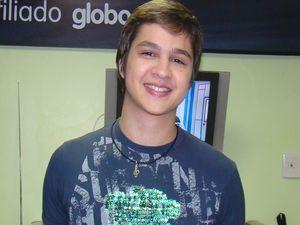 Cantor Felipe André (Foto: Fredson Navarro/ G1 SE)