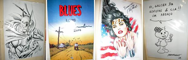 Colecionador reúne 150 mil quadrinhos em Fortaleza 2 (Foto: Diana Vasconcelos/G1 Ceará)
