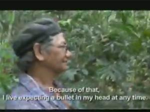 Imagem do vídeo exibido pela ONU sobre José Cláudio e Maria do Espírito Santo (Foto: Reprodução / Nações Unidas)