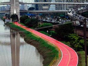 Ciclovia vai ganhar mais 5 km de faixa (Foto: Rahel Patrasso/ Futura Press)