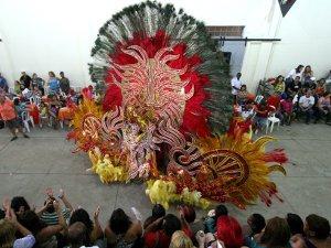 Fantasia apresentada no concurso realizado em 2011 em Campo Grande (Foto: Denilson Secreta/Prefeitura de Campo Grande)