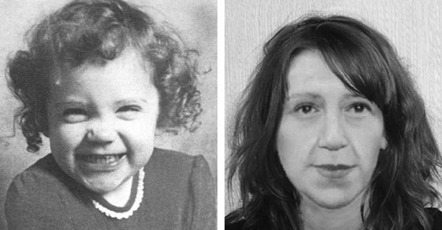 Katrice à época do desaparecimento e como estaria hoje (Foto: ONG Missing People)