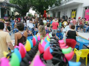 Bloco 'Num Ispaia Sinão Ienche' animará com samba, choro, marchinhas carnavalescas e sambas enredos (Foto: Waleska Santiago/Agência Diário)