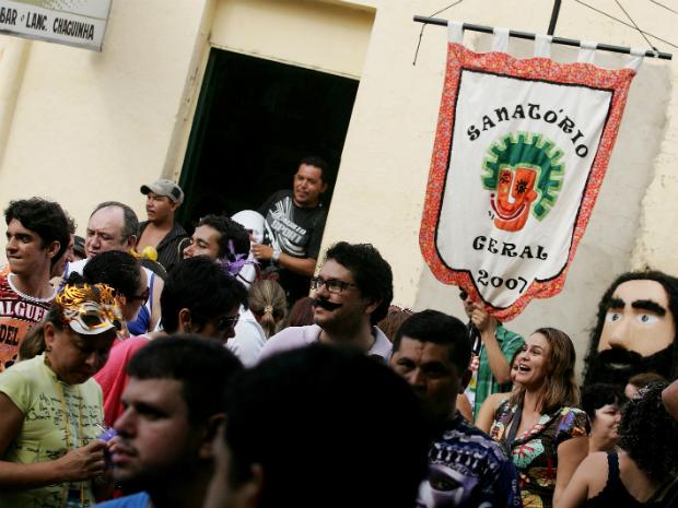 Foliões do 'Sanatório Geral' brincarão na segunda (20) e na terça-feira (22).  (Foto: Kiko Silva/ Agência Diário)
