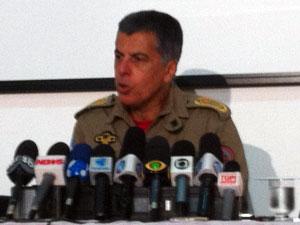 Coronel Sérgio Simões (Foto: Carolina Lauriano/ G1)