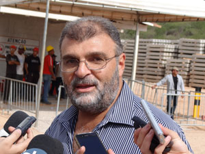 Tufi Daher Filho - presidente da Transnordestina (Foto: Luna Markman/G1)