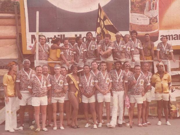 O tradicional bloco surgiu em 1956 e até hoje arrasta multidões pela Av. Rio Branco (Foto: Arquivo do Bafo da Onça)