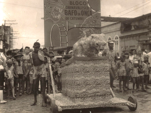 Bloco Bafo da Onça desfila pelas ruas do Centro do Rio (Foto: Arquivo do Bafo da Onça)