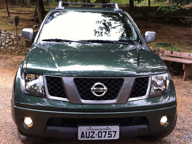 Nissan Frontier (Foto: Rodrigo Mora)