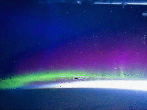 Sequência foi feita a partir de fotos tiradas na Estação Espacial Internacional. (Foto: Nasa)