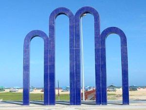 Arcos da Atalaia atraem turistas (Foto: Joelma Gonçalves/G1 SE)