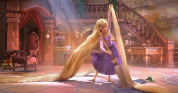 Número de Rapunzel ajudaria a compreender estrutura de fibras. (Foto: Reprodução)