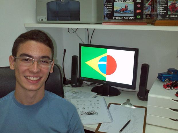 Além de conseguir vaga no IME, Pedro Paulo foi contemplado pela bolsa do governo japonês (Foto: Arquivo pessoal)