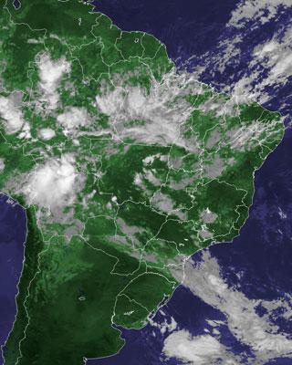 satelite (Foto: Cptec/Reprodução)