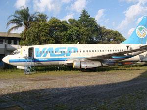 Aeronave da Vasp foi arrematada por R$ 133 mil em leilão (Foto: Divulgação)