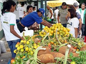 Feira de Alimentos Orgânicos (Foto: Divulgação/Semcom)