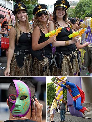 FOTOS: Bloco Simpatia é Quase Amor desfila no Rio (Alexandre Durão/G1)