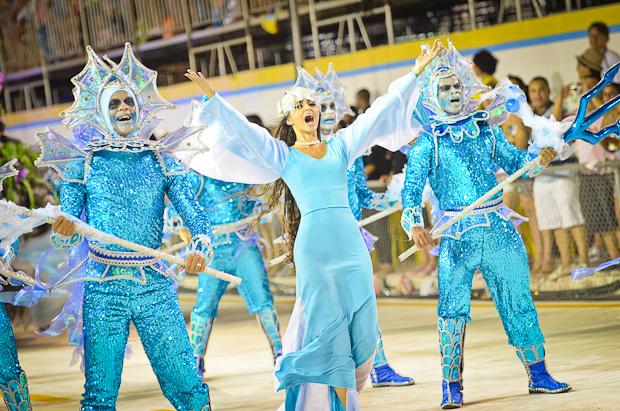Relembre o desfile da Boa Vista campeã do carnaval (Weliton Aiolfi/ G1ES)